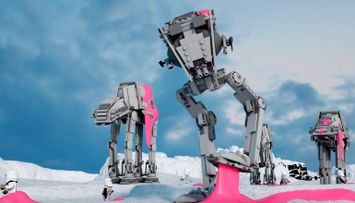 Hoth Flavored Bubblegum - LEGO® Star Wars™ Battle Story