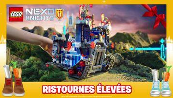 HIGH LEGO® NEXO KNIGHTS RETURNS
