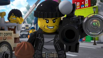 Giant Donut Catches Crook - LEGO City Video
