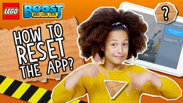 How to Reset the LEGO BOOST App