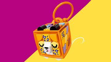 41929 Bag Tag Leopard