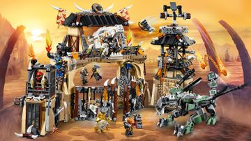 LEGO Ninjago - 70655 Dragon Pit - Dash to the Dragon Pit with the ninja heroes and free the dragons captured by Iron Baron and the Dragon Hunters!