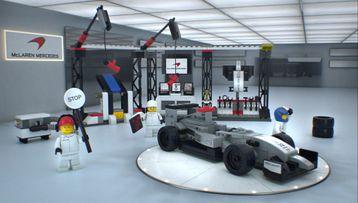 McLaren Mercedes Pit Stop