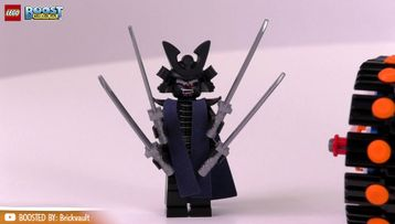 AFOL video - BOOST version Garmadon