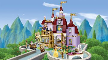 41067 Belles Enchanted Castle