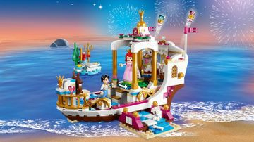 41153 Ariels Royal Celebration Boat