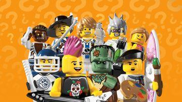8804 LEGO Minifigures