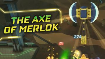 LEGO NEXO KNIGHTS Merlok Power  The Axe of Merlok