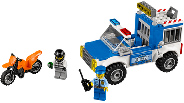 10735 Police Truck Chase