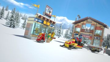 60203 Snow emergency Snow patrol to the rescue  -  LEGO City
