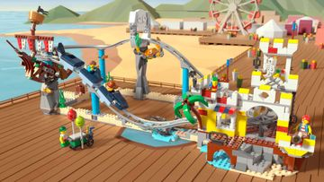 Climb on and Buckle in for LEGO® Creator 3in1 Pirate Roller Coaster!