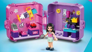 Le cube de jeu shopping d'Emma