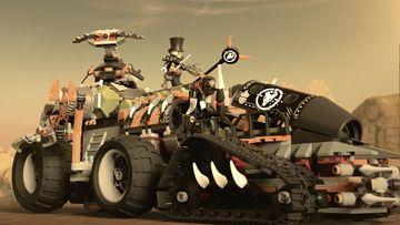 Aanvallen van gepantserde voertuigen! - LEGO NINJAGO 70654 Dieselnaut