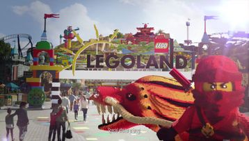 Ninjago Ride Landing Video