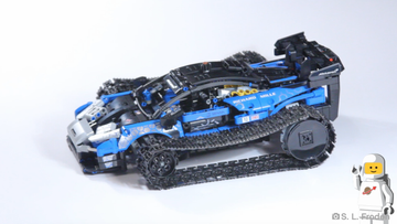 Custom crazy LEGO® Technic™ McLaren!