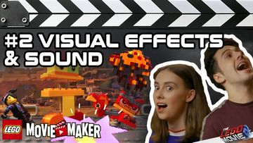 THE LEGO® MOVIE 2™ Movie Maker Master Classes – Nr. 2 Visuelle Effekte & Sound