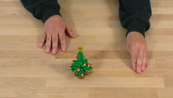 Build a Real Christmas Tree – Happy Holidays Challenge Tip