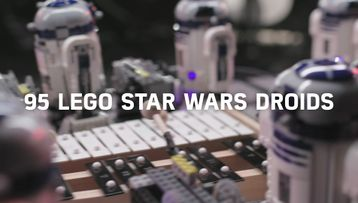 Check out the droid orchestra