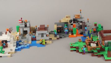 LEGO Minecraft Build All of your 2014 2015 sets together