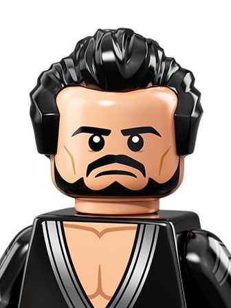 General Zod, a military leader and rebel dressed in black