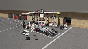 75911 McLaren Mercedes Pit Stop