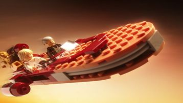 Check out Luke's Landspeeder™ in action!