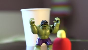 Marvel superhopper: Thor og Hulk