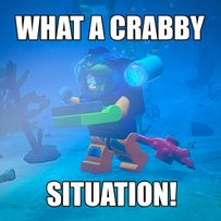 """WHAT A CRABBY SITUATION!"""