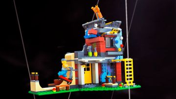 Skate, Climb, and Grind at the Exciting LEGO® Creator 3in1 31081 Modular Skate House