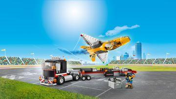 Camión de Transporte del Jet Acrobático