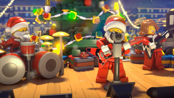 Merry Brickmas From Lego City