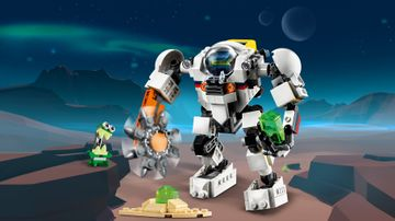 Vesmírný těžební robot