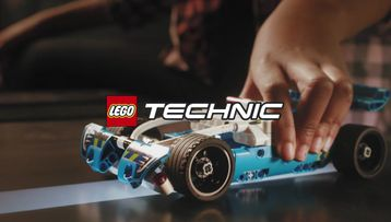LEGO Technic RC Tracker