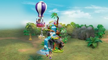 41423 - Tiger Hot Air Balloon Jungle Rescue
