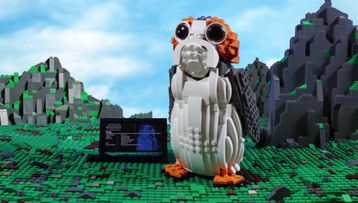 Porg™ – LEGO® Star Wars™ – Inboxing 75230