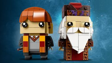 41621 Ron Weasley and Albus Dumbledore