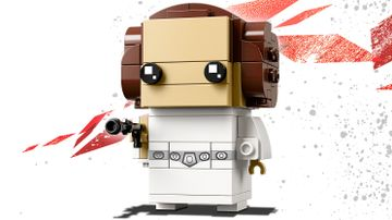 LEGO Brickheadz - 41628 Princess Leia Organa - Build a LEGO Brickheadz version of Princess Leia from the movie Star Wars: Episode V The Empire Strikes Back and display on a baseplate.