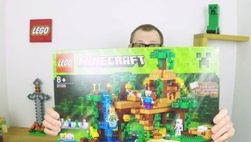 LEGO Minecraft The Jungle Tree House 21125 model presentation