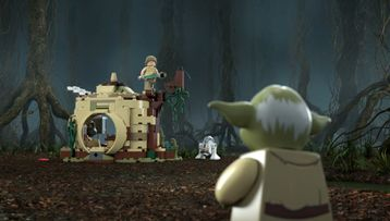 75208 – Yoda's Hut | Product Animation