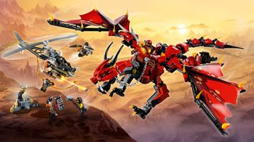 LEGO Ninjago - 70653 Firstbourne - Help Kai and Cole save Firstbourne, the mother of all dragons, from the Dragon Hunters!