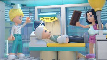 Ethan aux urgences de l'hôpital de Heartlake City - LEGO® Friends