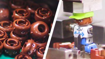 LEGO DUPLO Fabrikasının içinde GLOBAL