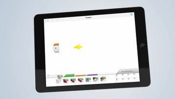 Create your first Program on your Tablet