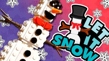 Create a Happy Snowman!