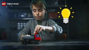 Le camion à crochet LEGO® Technic