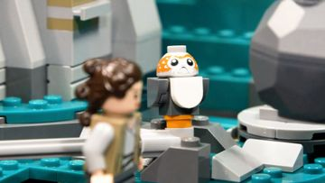 LEGO Star Wars Luke and Reys Training on AhchTo  75200 Puppetry