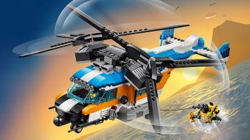 31096 Twin Rotor Helicopter