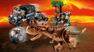 Huida del Carnotaurus en la girosfera