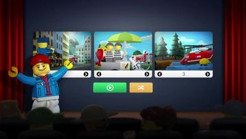 Create your own LEGO City Movie