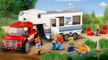 60182 Pickup and Caravan